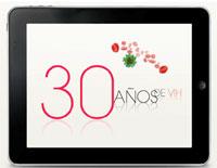 30 años de VIH - Aplicación para iPad